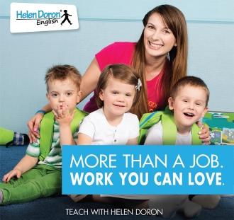 Conviértase en un profesor de inglés certificado Helen Doron: los mejores profesores de EFL en el mundo.