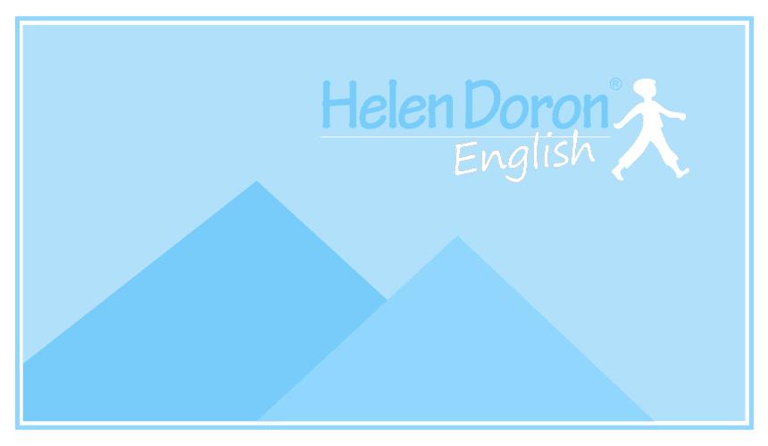 Talleres de Semana Santa Helen Doron English