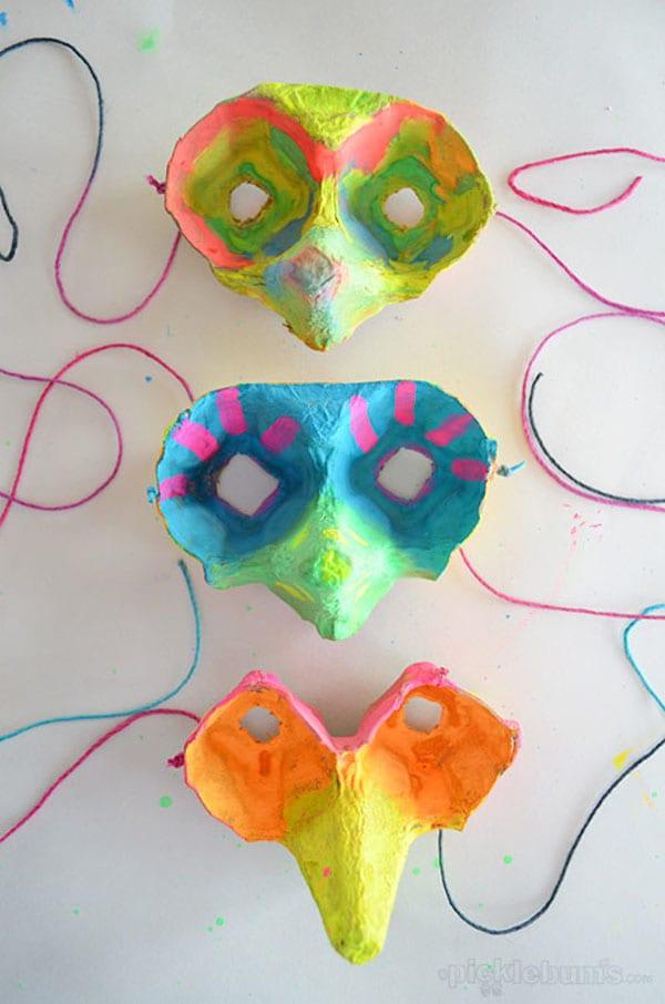 5 ideas para hacer máscaras de Carnaval para niños - Helen Doron