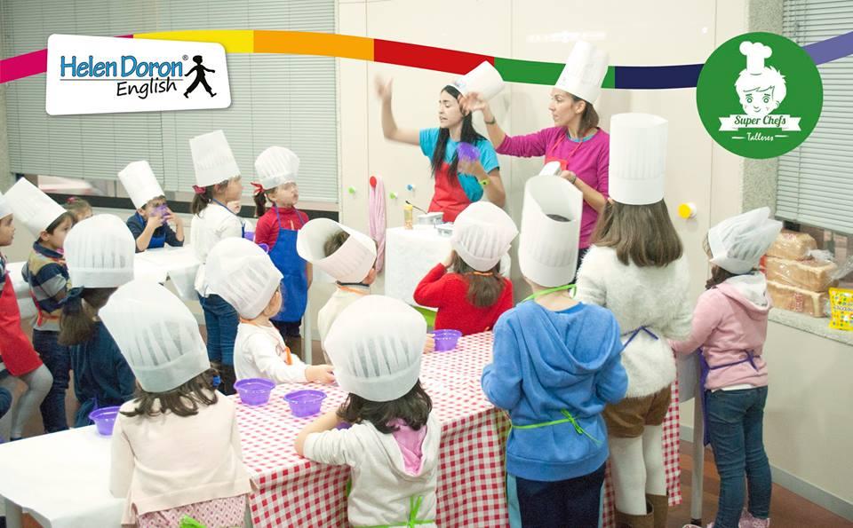 Super chefs talleres de cocina en ingl s para ni os y for Taller cocina ninos