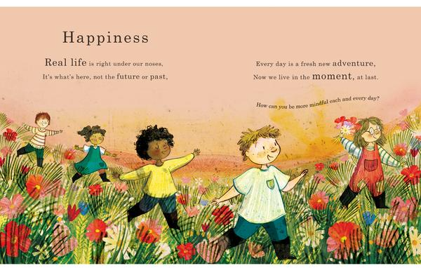 Una de las ilustraciones de Happy