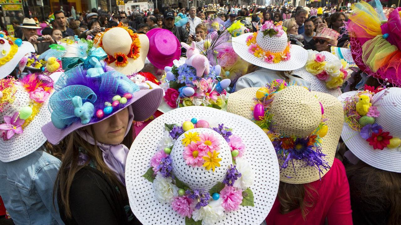Easter Bonnet Parade in NY