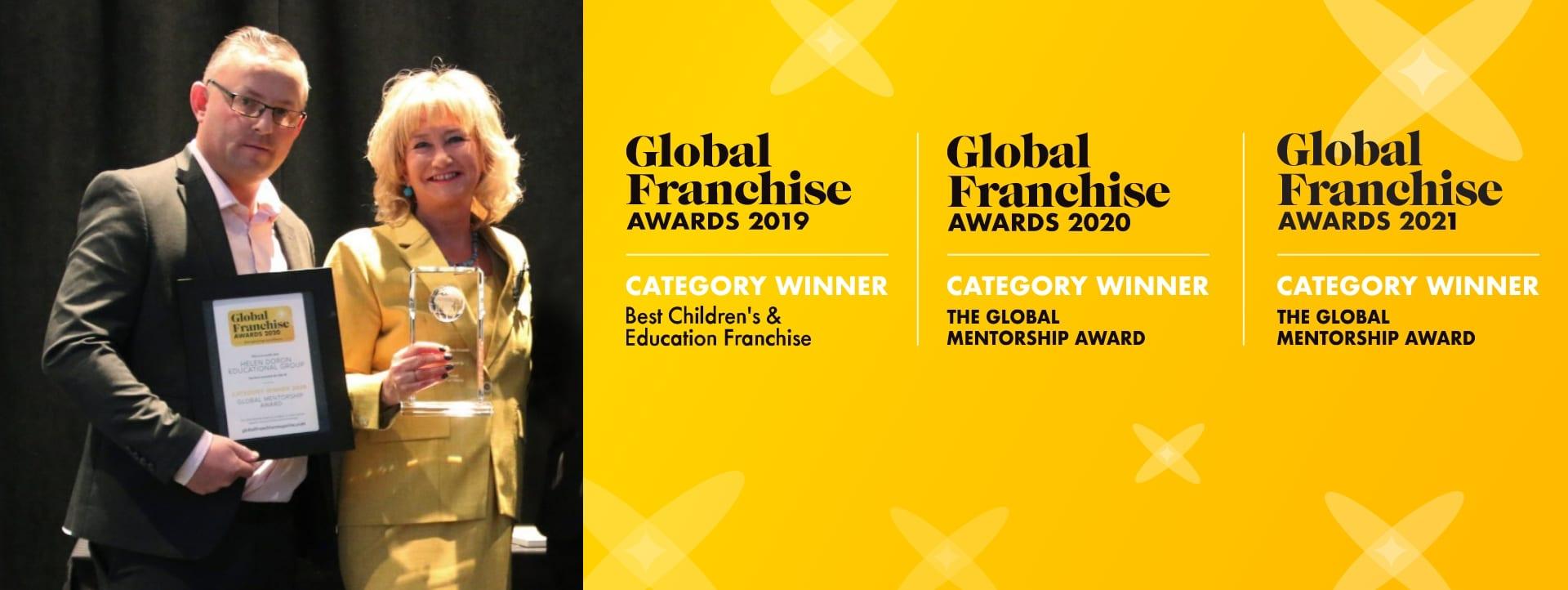 Global Franchise Award 2019-2021