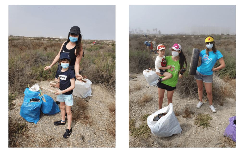 Recogida de basura en Roquetas de Mar