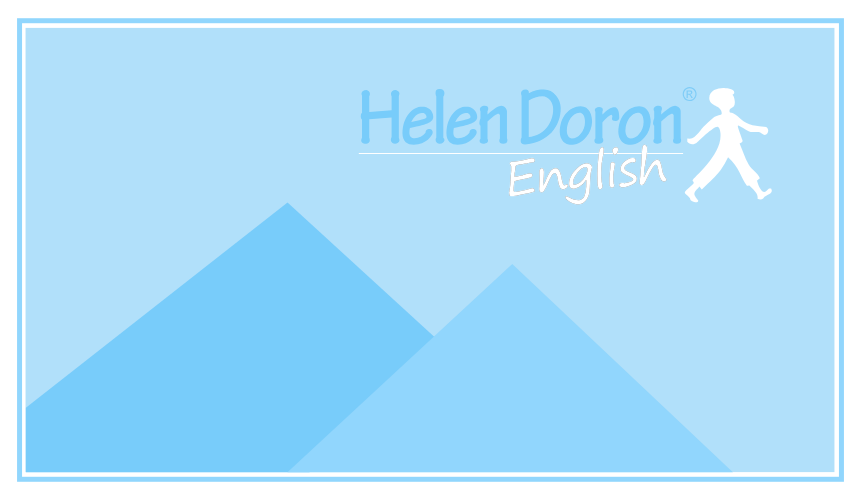 ENGLISH URBAN SUMMER CAMP HELEN DORON 2020